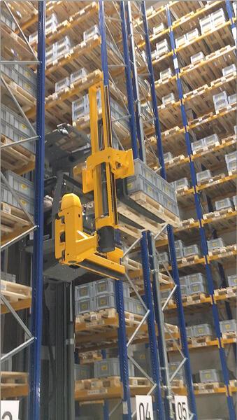 SIBA\'s smart high-bay warehouse